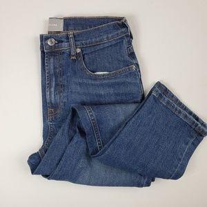 Everlane High Waist Straight Leg Ankle Jean sz 29